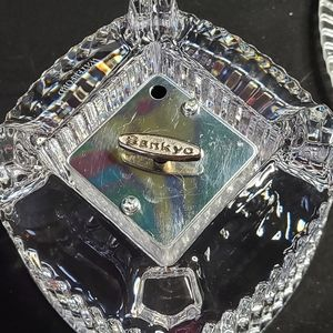 Waterford Crystal Accents - Crystal music box and picture frame